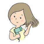 ドライヤーの電気代を節約しながら時短できる髪の乾かし方