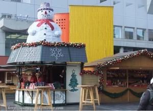 ドイツクリスマスマーケット大阪1